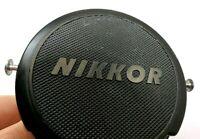 "Nikon Front Lens Cap ""Nikkor"" 52mm Black  for 50mm f1.4 Ai  Ai-s"