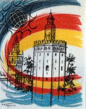 Seville Expo Universal YT 2736 ein Frankreich FDC Umschlag Brief 1° Tag