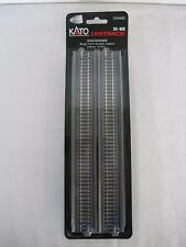 "NEW* 2 pieces Single Track Kato UNITRACK N Gauge Scale 248mm 9 3/4"" 20-400 S248V"