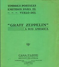 ARGENTINA. Philatelic papers on the Graff Zeppelin's Trip to South America.