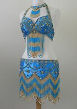 Jasdee Belly Dance Costume Hand Work Beaded Style 1103