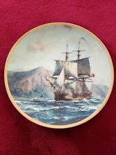 """Hamilton collector Plate - Call To Adventure """"The Bounty"""" By Roy Cross #3849A"""