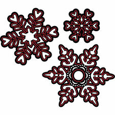 Assorted Snowflakes Dies Darice for Cardmaking,Scrapbooking, etc