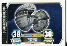 Star Wars Force Attax Series 3 Card #120 Seperatist Transport
