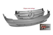 Mercedes Vito 2010-2015 (W639) Front Bumper No Sensor Holes - Textured