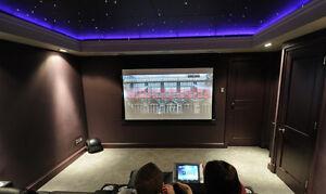 Room decoration star ceiling fiber optic light kit wireless remote power save10w