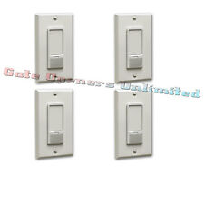 Liftmaster 823LM 4-Pack Remote Light Switch Security+2.0 for Garage Door Openers