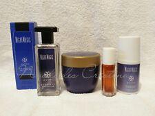 Avon NIGHT MAGIC 4 Pc Gift Set: Spray Cologne, Rollete, Cream & Deodorant
