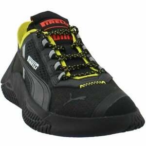 Puma Replicat-X X Pirelli Lace Up Mens Sneakers Shoes Casual - Black Size 11.5