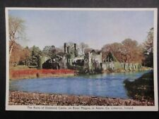 Ireland LIMERICK DESMOND CASTLE RIVER MAIGUE c1950's by BAILEY, SON & GIBSON