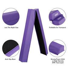 Extra Firm Vinyl 6ft Balance Beam Folding Gymnastics Beam Tumbling Home