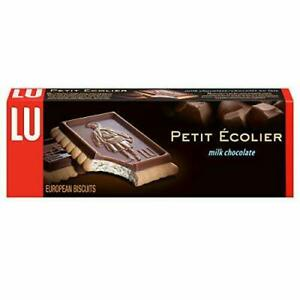 Lu Petit Ecolier European Milk Chocolate Biscuit Cookies