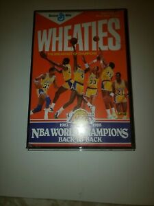 LAKERS Wheaties Cereal Box This is Celebrating their back to back Wins!!