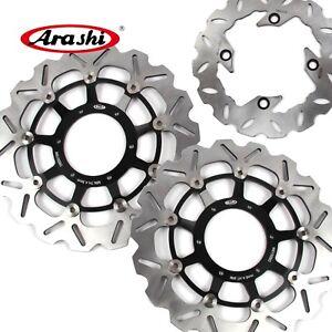 Front & Rear Brake Disc Rotor For Honda CBR1000RR 2004-2005 CBR600RR 2003-2015