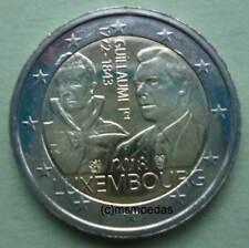 Luxemburg 2 Euro 2018 Großherzog Guillaume I Gedenkmünze Euromünze commemorative