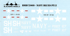 Navy Blues Pt:2 1/72nd scale decals