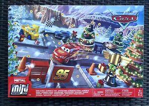 Disney Pixar Christmas Mini Racers Cars Aldi Advent Christmas Calendar New