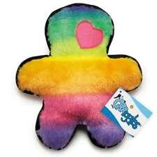 "Pride Pal Dog Toy Plush Bright Rainbow Soft Fun Squeaker Durable Chew - 10 3/4"""