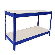 500kg Heavy Duty Metal Work Bench Garage Workshop Table Workbench Station DCUK