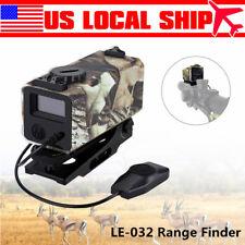 Super Mini Laser RangeFinder Riflescope Rifle Scope Hunting Distance Measurement
