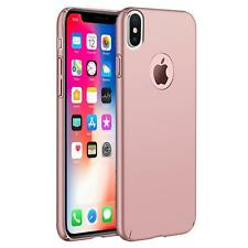 Apple iPhone X 10 Hülle Tasche Case Cover Handy Backcover Handyhülle Rosegold
