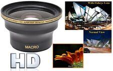 Super Grandangolo Alta Def. Obiettivo Fisheye per Nikon D3400 D5600