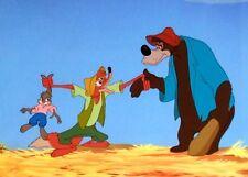 Disney The Song Of The South Cel Brer Fox Brer Bear  Rare Animation Art cell