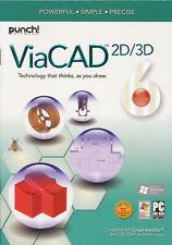 Punch ViaCAD 2D/3D Version 6 - Precision Design CAD Software for Windows - NEW!
