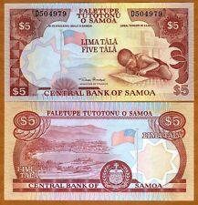 Western Samoa, 5 Tala, ND (2002)  P-33 (33a), UNC
