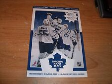 2009 Toranto Maple Leafs A 16 Month Poster Calendar NHL Hockey NEW Sealed Rare