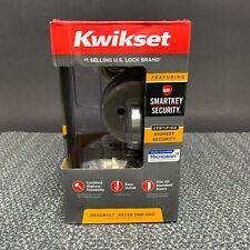 Kwikset Satin Nickel Steel Deadbolt 92580-016