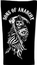 Sons Of Anarchy Beach/Bath Towel -- Flag