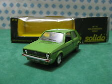 Vintage - Volkswagen GOLF 1°series 3 goals - 1/43 Solido n°19