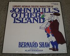 John Bull's Other Island~SEALED 4 LP Box~Shaw~Strachan~London's Mermaid Theatre