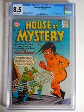 1964 Dc House of Mystery #143 Cgc 8.5 Intro. J'onn J'onzz Manhunter