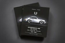 """Porsche 911 Turbo Book """"40"""" Air Cooled Years 1975 - 1998 LIMITED EDITION SIGNED"""