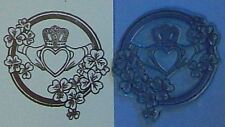 Celtic Claddagh rubber stamp by Amazing Arts love loyalty & friendship symbol