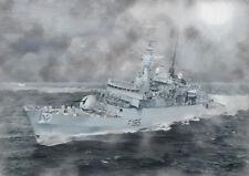 HMS AVENGER -  LIMITED EDITION ART (25)