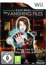Cate West: the Vanishing Files NINTENDO WII NUOVO SIGILLATO EDIZIONE ITALIANA