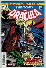 Tomb of Dracula 10 facsimile 2019 Marvel Comics exact reprint 1st appear BLADE