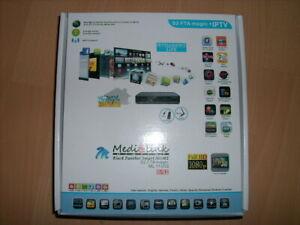 Medi@link Black Panther Smart Home ML1100S DVB S2 IPTV + USB Media Player + PVR