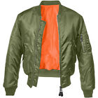 BRANDIT Giacca Giubbotto Bomber uomo militare aviatore MA1 Jacket Olive