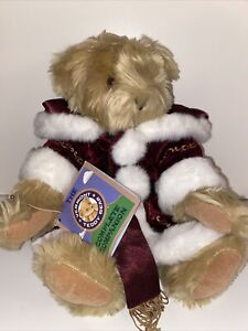 """16"""" Vermont Teddy Bear Jointed Holiday Christmas"""