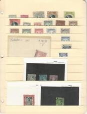 Barbados Stamp Collection on Stock Sheet, Early Classics Lot, Nice Selection