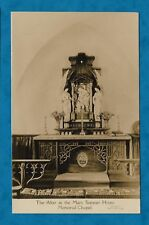 C1930s MOTHER'S UNION RP PC ALTAR IN THE MARY SUMNER HOUSE MEMORIAL CHAPEL