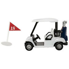 Golf Cart and 18th Hole Tee Sign 2 Piece Cake Decoration Kit Party Favors