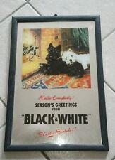 Petit Miroir black & white whiskey whisky 22 par 32 cm