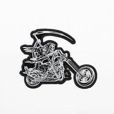 Biker motocicleta Choppers Grim Reaper Rider parca aufbügler Patch Patch