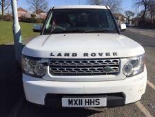 LAND ROVER DISCOVERY 4 GS 3.0 SDV6 AUTO 2011 11 REG WHITE EX POLICE