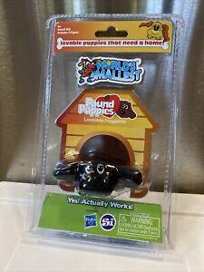 """World's Smallest POUND PUPPIES - BLACK LAB Mini 3"""" Puppy Dog"""